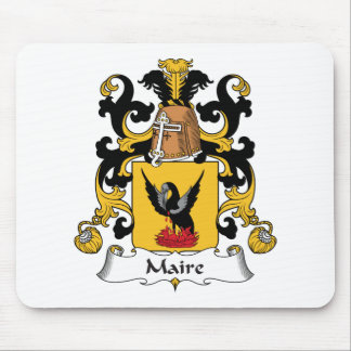 Escudo de la familia de Maire Tapetes De Ratón