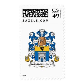 Escudo de la familia de Maisonneuve Sello