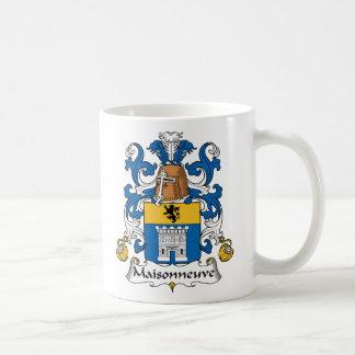 Escudo de la familia de Maisonneuve Taza