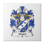 Escudo de la familia de Majdel Azulejo Ceramica