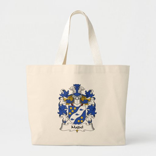 Escudo de la familia de Majdel Bolsa De Mano
