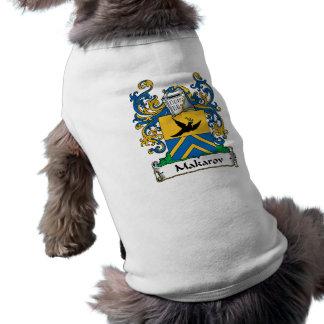 Escudo de la familia de Makarov Camisetas De Perrito