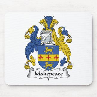 Escudo de la familia de Makepeace Alfombrilla De Raton