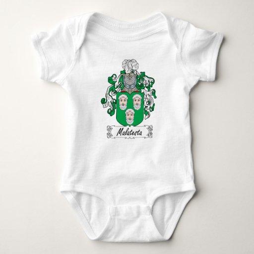 Escudo de la familia de Malatesta Tshirts