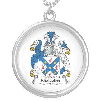 Escudo de la familia de Malcolm Joyería