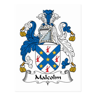 Escudo de la familia de Malcolm Postal