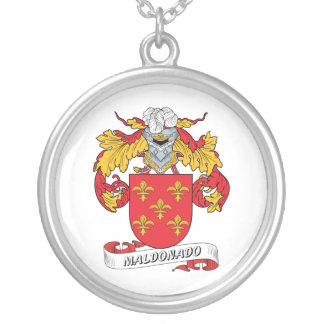 Escudo de la familia de Maldonado Pendientes Personalizados