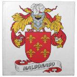 Escudo de la familia de Maldonado Servilleta Imprimida