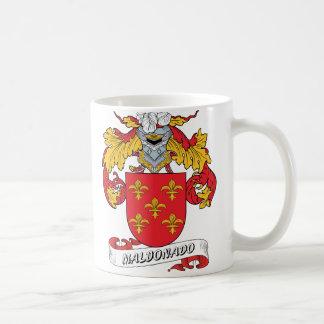 Escudo de la familia de Maldonado Taza De Café