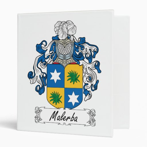 "Escudo de la familia de Malerba Carpeta 1"""