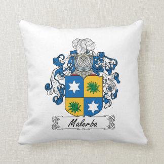 Escudo de la familia de Malerba Cojines