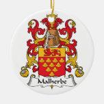 Escudo de la familia de Malherbe Adorno De Reyes