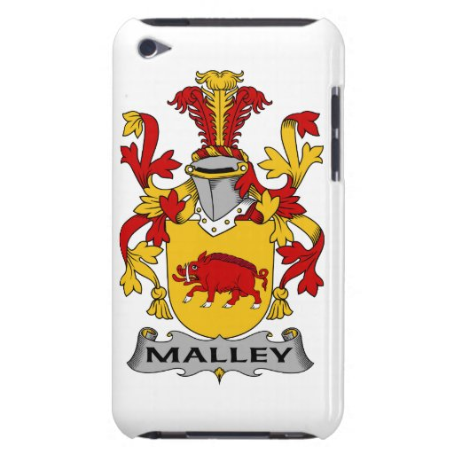 Escudo de la familia de Malley iPod Case-Mate Cárcasa