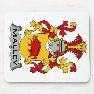 Escudo de la familia de Malley Alfombrillas De Raton