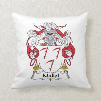 Escudo de la familia de Mallol Almohadas