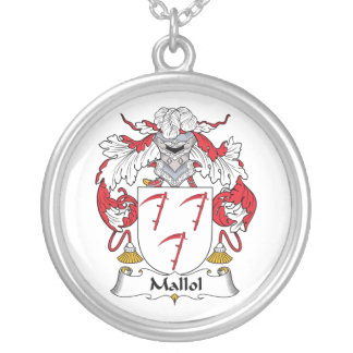 Escudo de la familia de Mallol Collares Personalizados