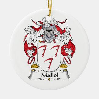 Escudo de la familia de Mallol Ornamentos De Reyes Magos