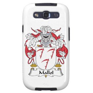 Escudo de la familia de Mallol Samsung Galaxy S3 Fundas