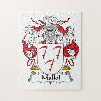 Escudo de la familia de Mallol Rompecabeza