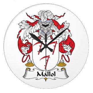 Escudo de la familia de Mallol Relojes