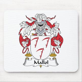 Escudo de la familia de Mallol Alfombrilla De Ratón
