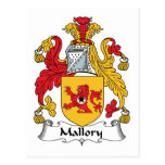 Escudo de la familia de Mallory Postal