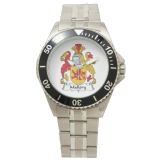 Escudo de la familia de Mallory Reloj De Mano