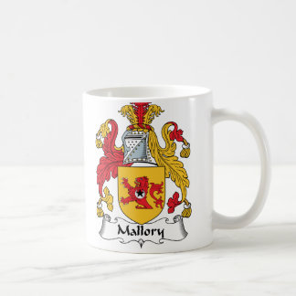 Escudo de la familia de Mallory Taza