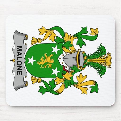 Escudo de la familia de Malone Tapete De Ratón