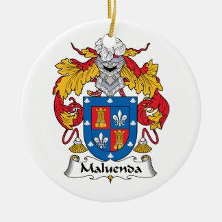 Escudo de la familia de Maluenda Ornamento De Reyes Magos