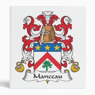 Escudo de la familia de Manceau