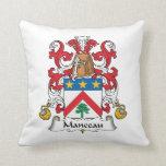 Escudo de la familia de Manceau Almohada