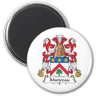 Escudo de la familia de Manceau Imán