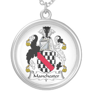 Escudo de la familia de Manchester Joyerias