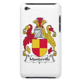 Escudo de la familia de Mandeville iPod Touch Funda