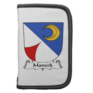Escudo de la familia de Maneck Planificador