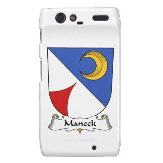 Escudo de la familia de Maneck Motorola Droid RAZR Carcasas