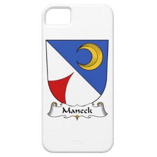 Escudo de la familia de Maneck iPhone 5 Case-Mate Cárcasa