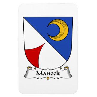 Escudo de la familia de Maneck Iman Rectangular