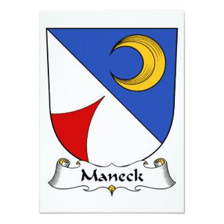 Escudo de la familia de Maneck Anuncio Personalizado