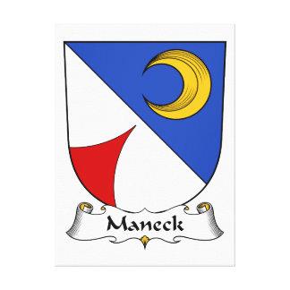 Escudo de la familia de Maneck Lona Estirada Galerias