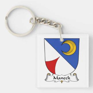 Escudo de la familia de Maneck Llaveros