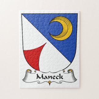 Escudo de la familia de Maneck Puzzle
