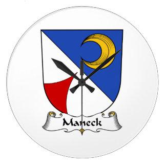 Escudo de la familia de Maneck Reloj