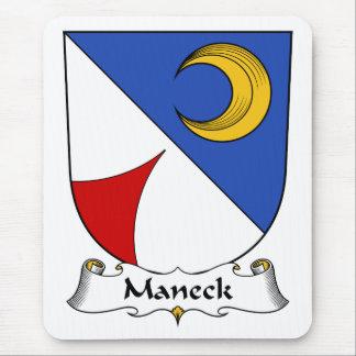 Escudo de la familia de Maneck Tapetes De Ratón