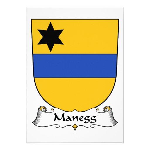 Escudo de la familia de Manegg Anuncios Personalizados