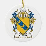 Escudo de la familia de Manen Adornos