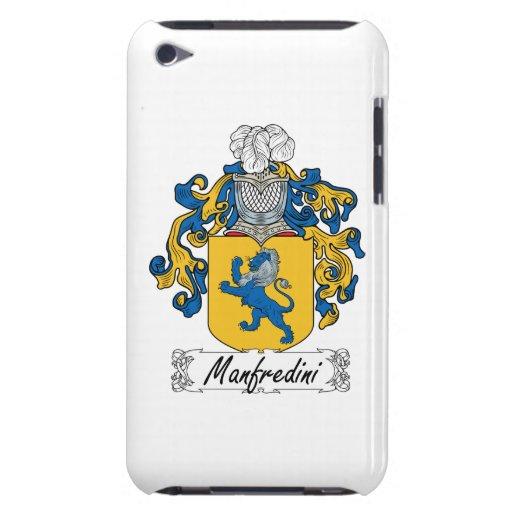 Escudo de la familia de Manfredini Case-Mate iPod Touch Cárcasas