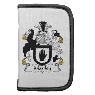 Escudo de la familia de Manley Planificador