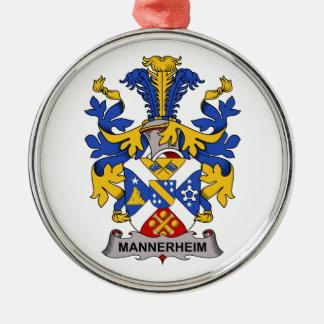 Escudo de la familia de Mannerheim Adornos De Navidad